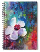 Christmas Flowers For Mom 02 Spiral Notebook