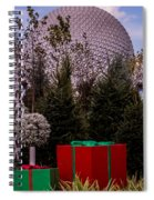 Christmas Gifts From Disney Spiral Notebook