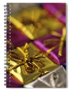 Christmas Gifts Spiral Notebook