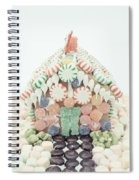 Christmas Gingerbread House Spiral Notebook