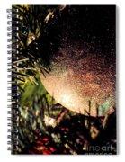 Christmas Glitter Spiral Notebook
