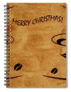 Christmas Greeting Spiral Notebook