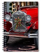 Christmas Grillwork Spiral Notebook