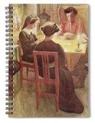 Christmas Holidays, Pub. In Lasst Licht Spiral Notebook