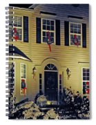 Christmas House Spiral Notebook