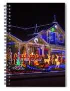 Christmas House Spiral Notebook