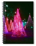 Christmas Hues Spiral Notebook