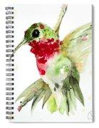 Christmas Hummer Spiral Notebook