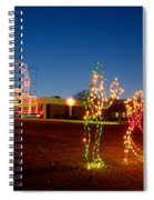 Christmas In Cayce-1 Spiral Notebook