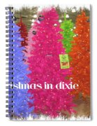 Christmas In Dixie Spiral Notebook
