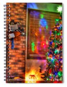 Christmas In Hdr Spiral Notebook