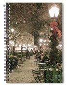 Christmas In Manhattan Spiral Notebook