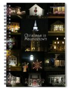 Christmas In Mauricetown  Spiral Notebook