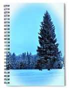 Christmas In The Valley Spiral Notebook