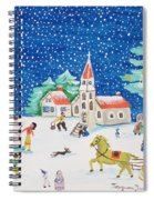 Christmas Joy Spiral Notebook