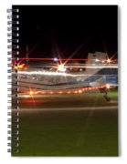 Christmas Light Porter Spiral Notebook
