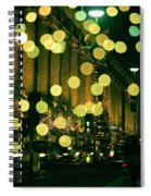 Christmas Lights In Oxford Streeet Spiral Notebook