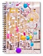 Christmas Lights V2 Spiral Notebook