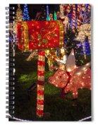 Christmas Mailbox Spiral Notebook