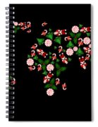 Christmas Map Spiral Notebook
