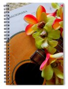 Christmas Mele Spiral Notebook