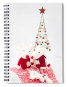 Christmas Mice Spiral Notebook