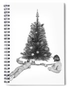Christmas Morning Play  Spiral Notebook