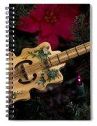 Christmas Music Spiral Notebook