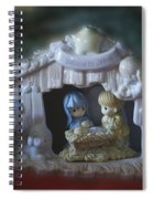 Christmas Nativity Scene Spiral Notebook