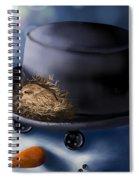 Christmas Nest Spiral Notebook