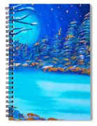 Christmas Night  Spiral Notebook