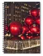 Christmas On 5th Avenue Manhattan 1 Spiral Notebook