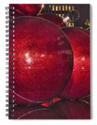 Christmas On 5th Avenue Manhattan 4 Spiral Notebook