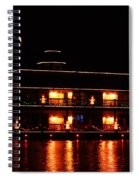Christmas On East Lake 2 Spiral Notebook