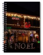 Christmas On East Lake Spiral Notebook