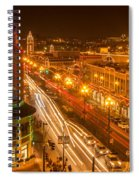 Christmas On The Plaza Spiral Notebook