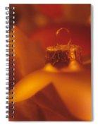 Christmas Ornament Spiral Notebook