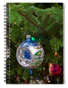 Christmas Bling #6 Spiral Notebook