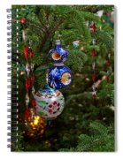 Christmas Bling #7 Spiral Notebook