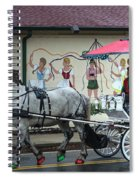 Christmas Parade Spiral Notebook