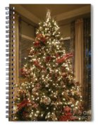 Christmas Past Spiral Notebook