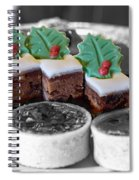 Christmas Pastries Spiral Notebook