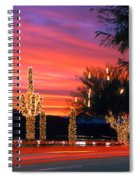 Christmas, Phoenix, Arizona, Usa Spiral Notebook