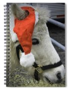 Christmas Pony Spiral Notebook