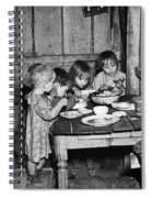 Christmas Poor, 1936 Spiral Notebook