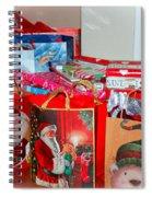 Christmas Presents Spiral Notebook