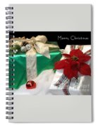 Christmas Presents Spiral Notebook