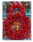 Christmas Ristra Spiral Notebook