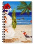 Christmas Sandman Spiral Notebook