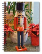 Christmas Sentinel  No 1 Spiral Notebook